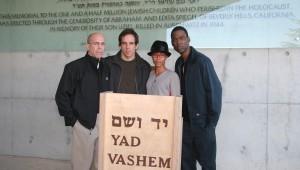 Ben Stiller a Yad Vashem