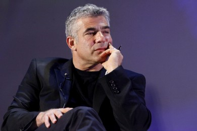 Yair Lapid (AP Photo/Miriam Alster/Flash90)