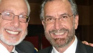 Da sinistra, Rav Eugene Korn e Rav Rosen
