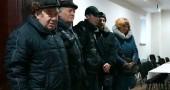 Alcuni membri della Comunità ebraica di Lugansk (fonte: sito web JTA)