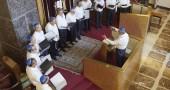 Il coro Mizmorim alla Sinagoga Centrale di Milano durante il festival Jewish and the City 2014