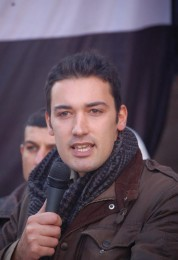 Lo scrittore siriano Shady Hamadi
