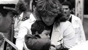 Il piccolo Stefano Gay Taché, ucciso durante l'attentato dell'ottobre 1982