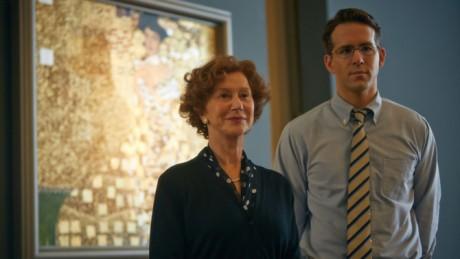 Helen Mirren e Ryan Reynolds in 'A woman in gold'