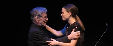 Amos Oz e Natalie Portman