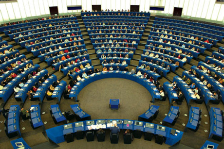 Il Parlamento Europeo a Bruxelles