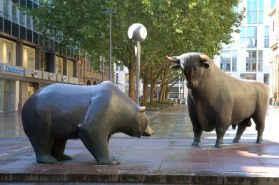 Toro e Orso in Borsa