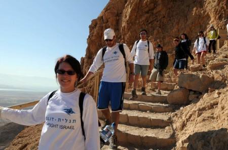 Studenti ebrei in Israele con il programma Taglit-Birthright