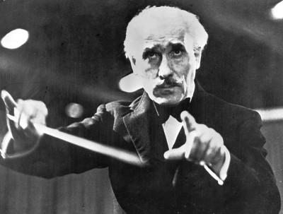 Il Maestro Artuiro Toscanini, che nel 1936 diresse il primo concerto della Filarmonica di Israele