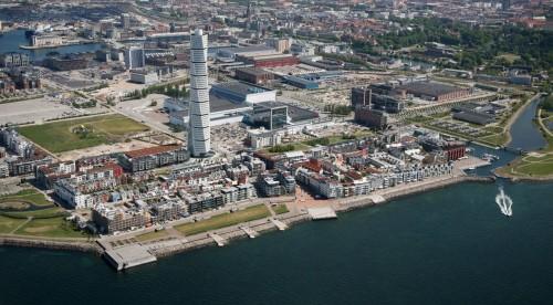 La città svedese di Malmo