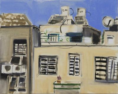 Una delle opere di Narkis Vizel, vincitrice del Maimeri/Bezalel Painting Award