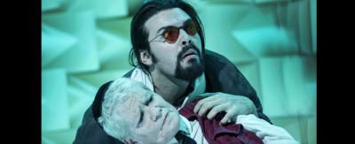 """Una scena dello spettacolo """"Le variazioni Goldberg"""" di Tabori in scena al Franco Parenti a novembre"""