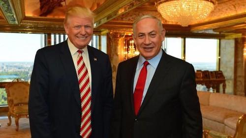 Donald Trump e Beniamin Netanyahu dirante l'incontro a New York a settembre (foto: GPO, fonte Ynetnews)