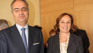 L'On. Alessandro Ruben e il Prefetto Luciana Lamorgese