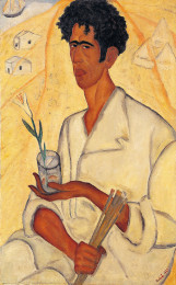 Rubin, Self Portrait with a Flower