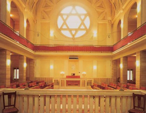 La sinagoga centrale di Bologna