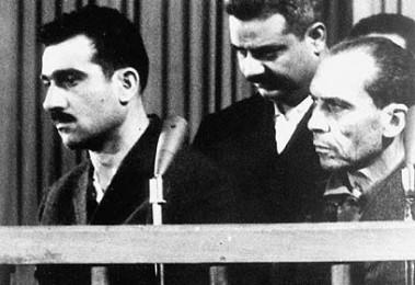 Eli Cohen durante il processo