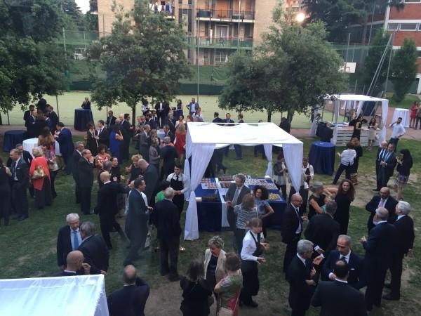 Cena, Gala, Fondazione Scuola