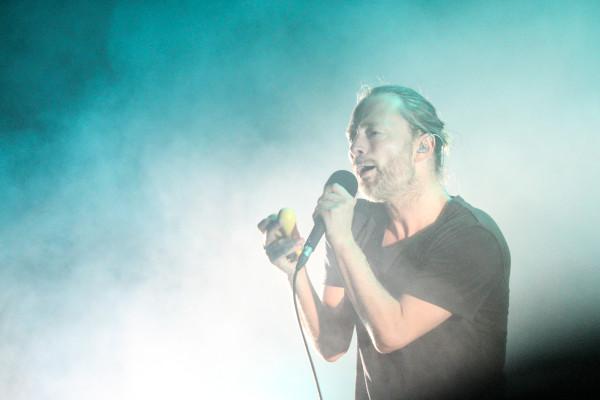 Thom Yorke, frontman della rock band Radiohead