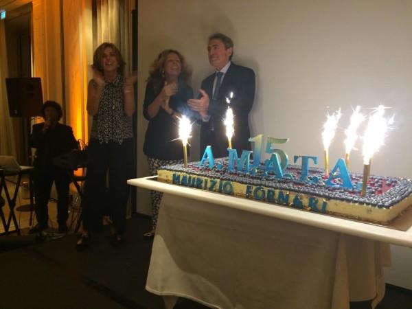 Il galà di celebrazione dei 15 anni di AMATA Italia