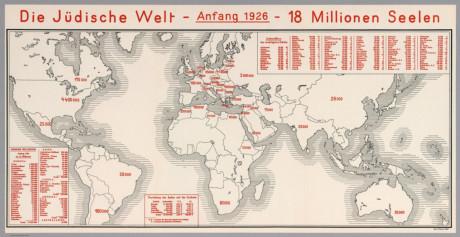Diaspora popolazione ebraica 1926