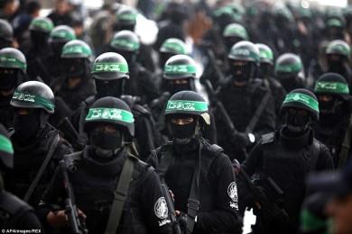 Una parata di Hamas a Gaza