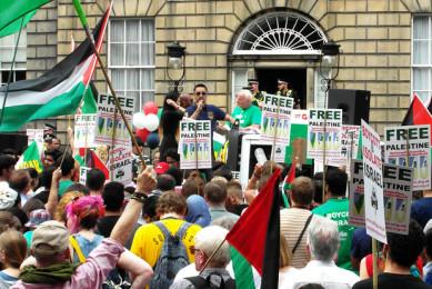 Manifestazione del SPSC a Edinburgo