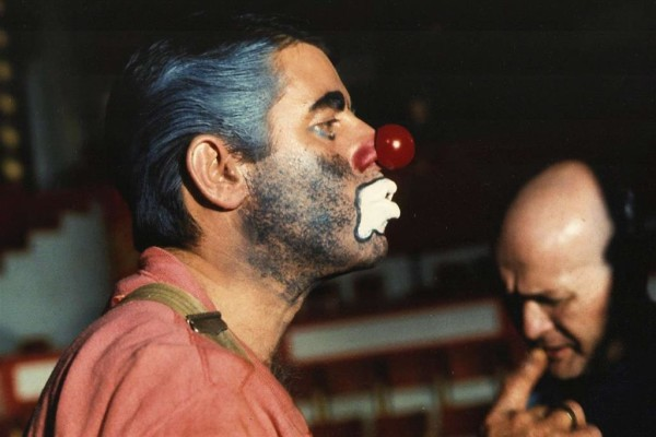"""jerry lewis nel film mai uscito """"The day the clown cried"""""""
