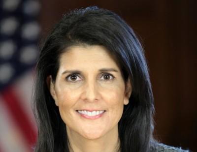 L'ambasciatrice americana allOnu Nikky Haley