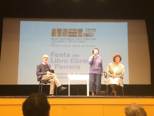 Tre relatori alla Festa del Libro Ebraico di Ferrara