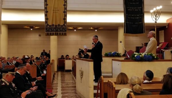 Il co-presidente della Comunità ebraica di Milano Raffaele Besso