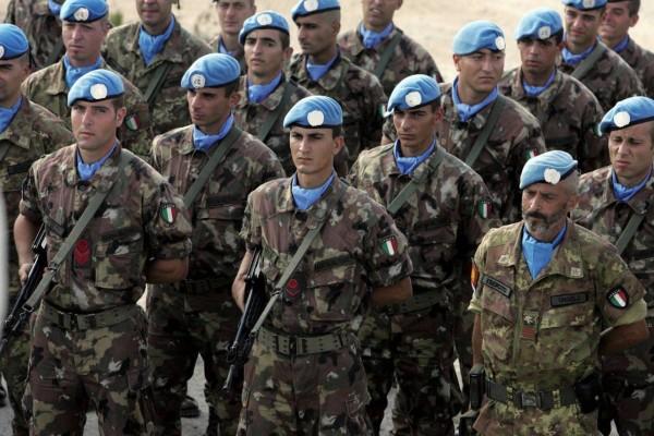 Soldati italiani in Libano con Unifil