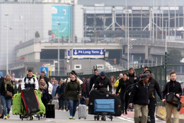 Aeroporto di Bruxelles dove c'è stato un allarme bomba