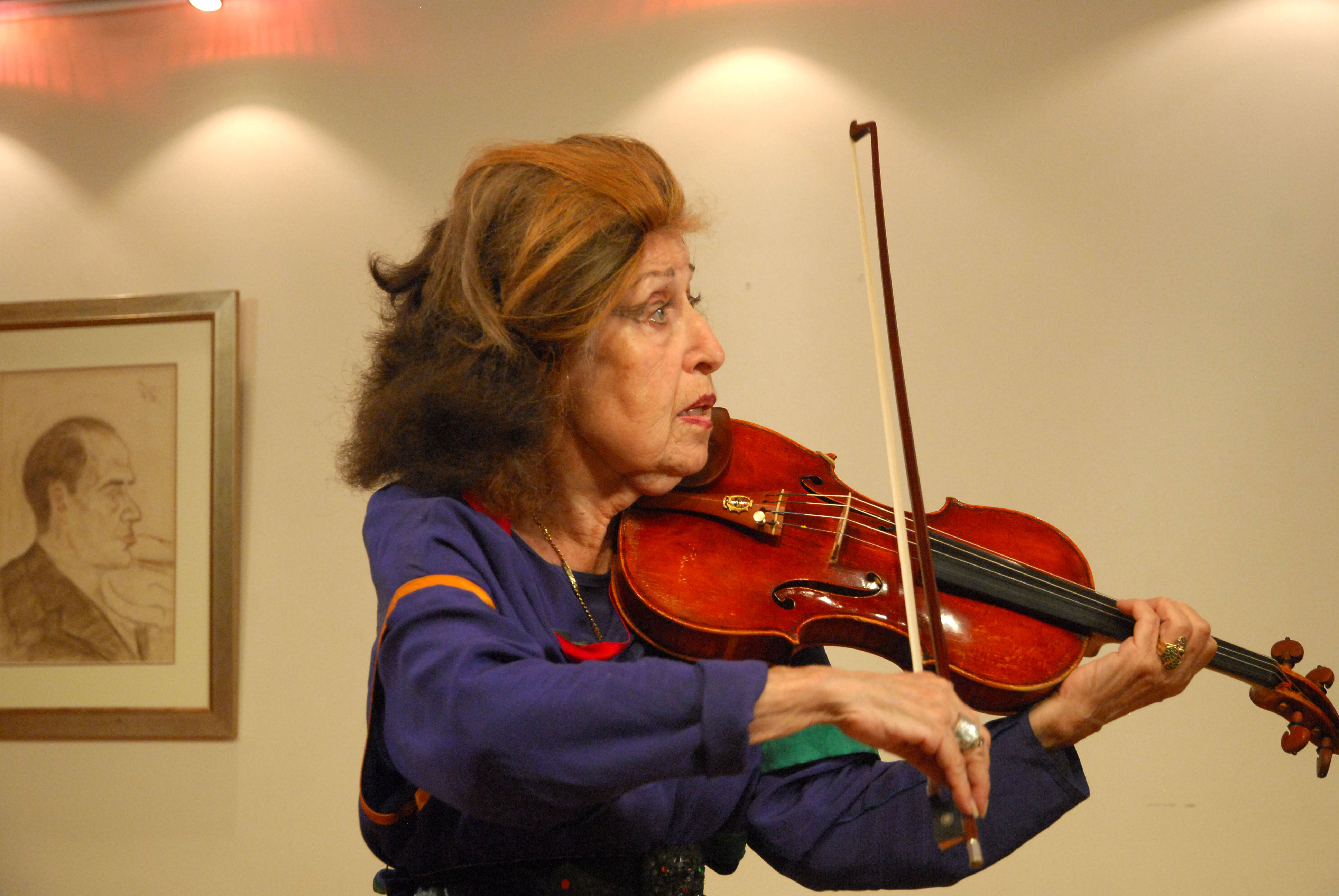 Ida Haendel. Foto: Sarit Uziely
