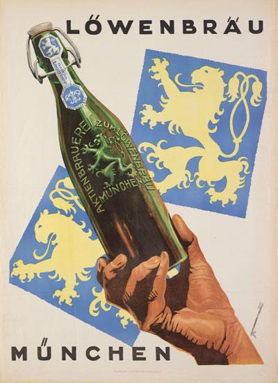 Manifesto della Lowenbrau, 1930