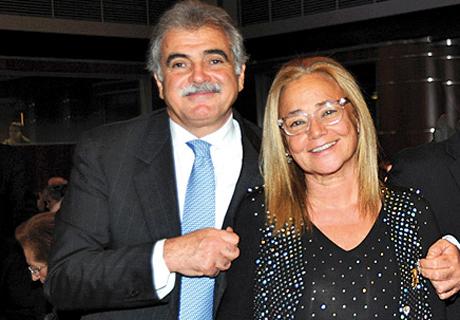 Walker Meghnagi e Daniela Zippel