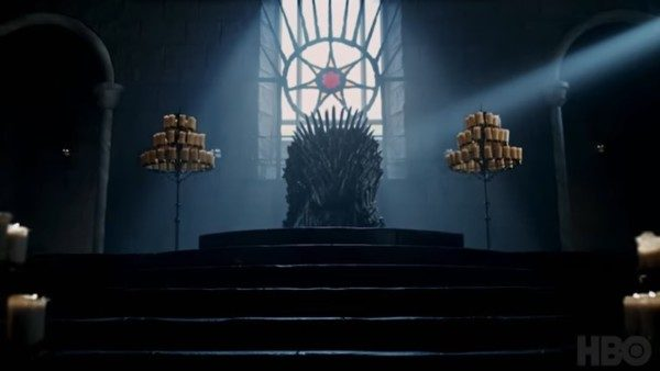 Il Trono di Game of Thrones (Trono di spade in italiano)