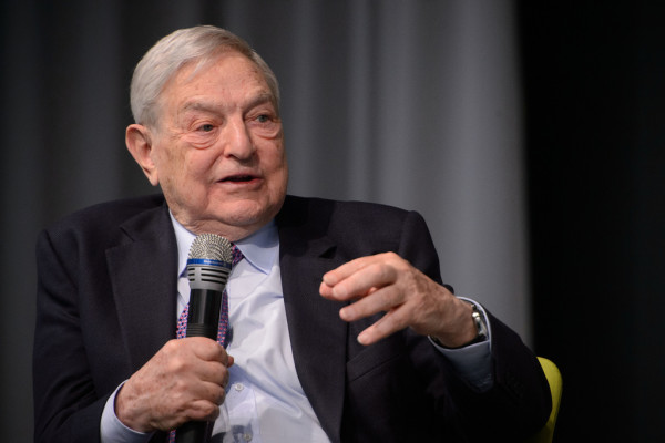 Il banchiere ungherese George Soros