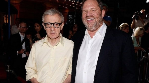 Harvey Weinstein e Woody Allen (fonte: Times of Israel)