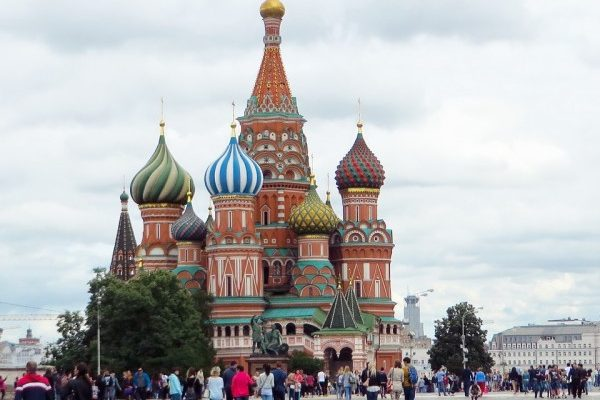 La Chiesa di San Basilio a Mosca