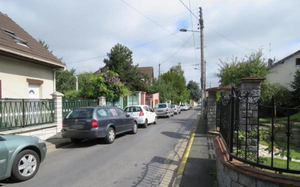 La via in cui abita la famiglia Pinto