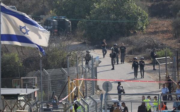 Il luogo a Gerusalemme dell'attacco ai soldati israeliani