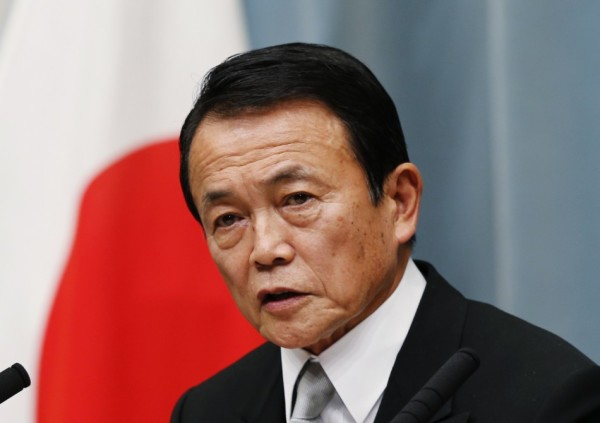 Il vice-premier giapponese Tarō Asō