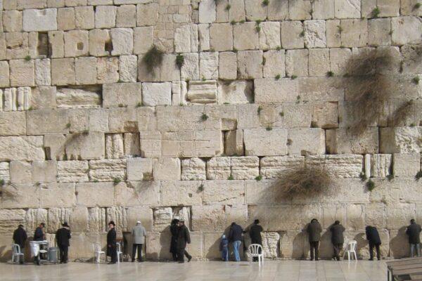 Muro del Pianto, rimasto dalla distruzione del Tempi di Gerusalemme