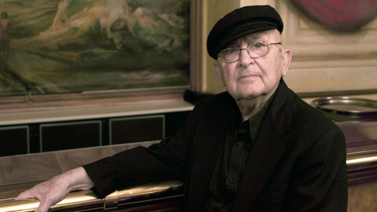 Lo scrittore Aharon Appelfeld, a cui è dedicata una serata del con vengo 'autobiografia ebraica' (fonte: Huffington Post)