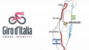 Le tappe del Giro d'Italia 2018 in Israele
