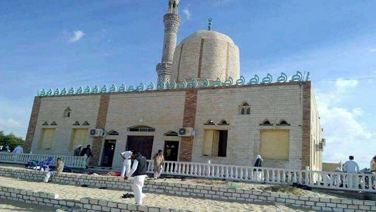 La moschea in Egitto dove c'è stato l'attentato