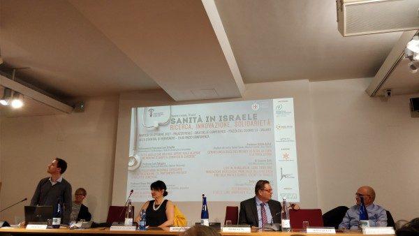 Il convegno sulla sanità israeliana