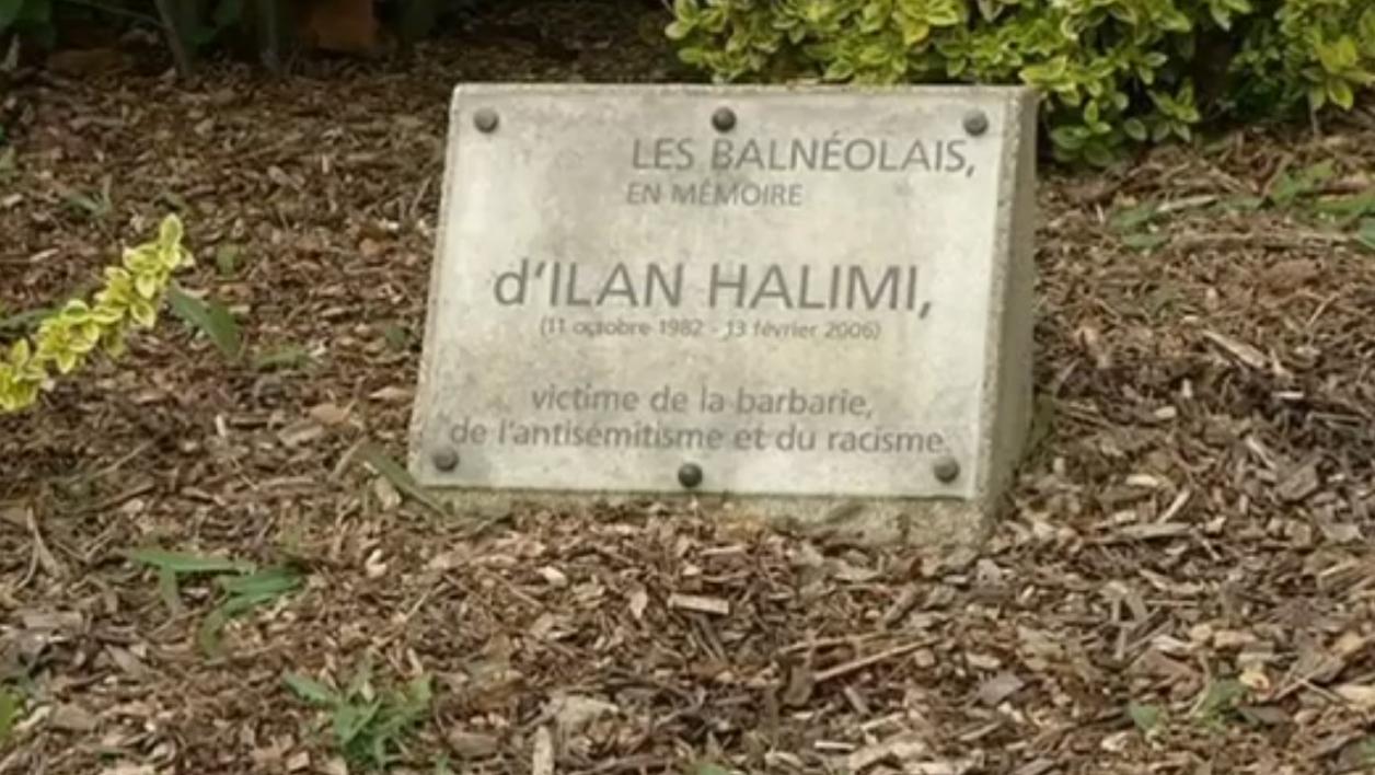 La stele di Ilan halimi danneggiata