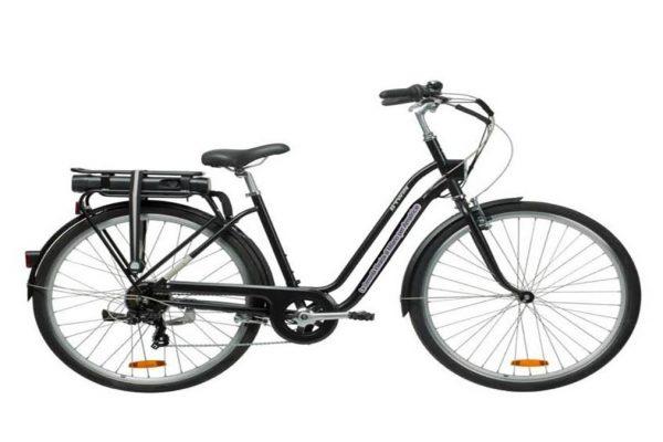 Una delle 10 biciclette donate dalla Comunità Ebraica di Milano ad Amatrice
